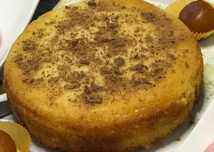 Recipe of Any night of the week Saffron Semolina Coconut (SSC) Cake