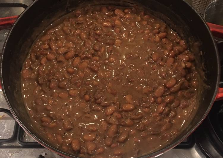 Step-by-Step Guide to Prepare Homemade Simple Mexican Pinto Beans