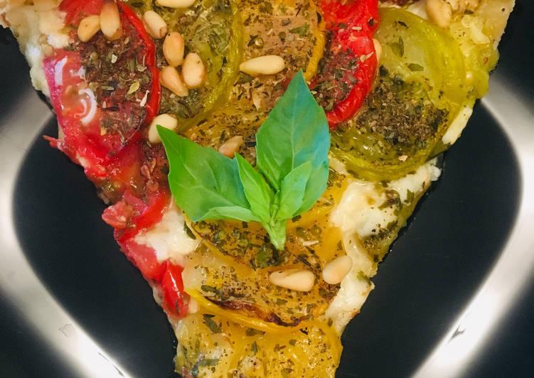 La Meilleur Recette De Tarte à la Tomate et Moutarde à l'ancienne