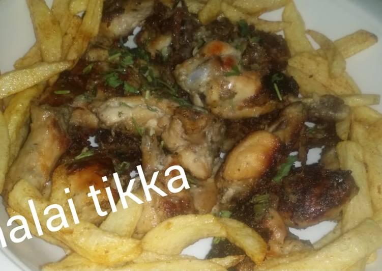25 Minute How to Make Quick Malai tikka chicken