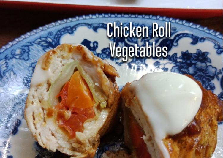 Ayam Bergulung Sayur