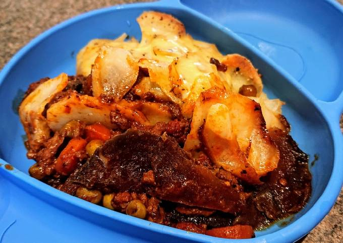 Mince Beef Hotpot With a Twist
