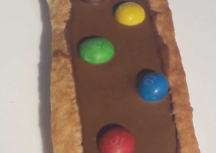 La Recette Pas à Pas Biscuit chocolaté aux M&M'S