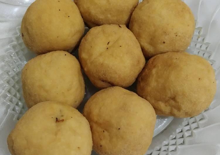 Tahu bulat goreng isi sosis - cookandrecipe.com