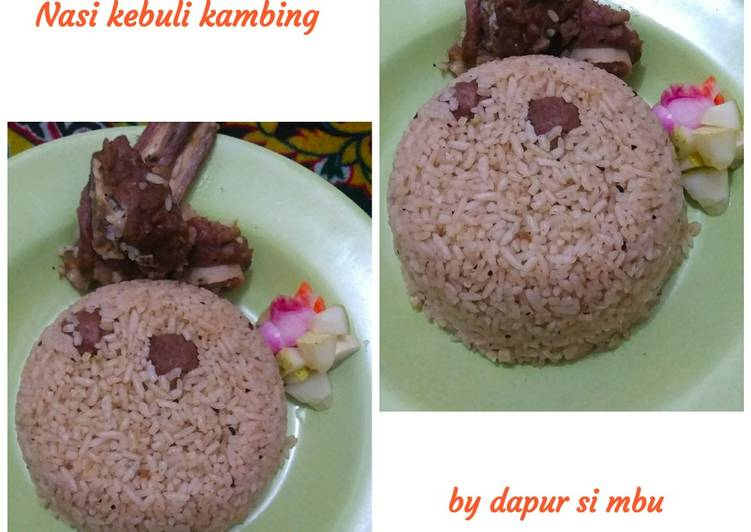 Nasi kebuli kambing - cookandrecipe.com