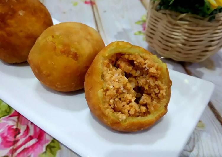 Bola ubi isi kacang (COA) khas Bagan siapi-api