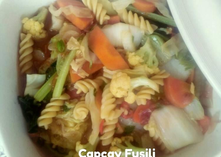 Capcay Fusili