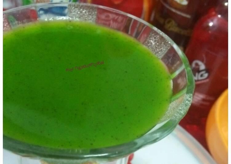 Easiest Way to Prepare Homemade #Kiwi margarita(mocktail) #post 54th