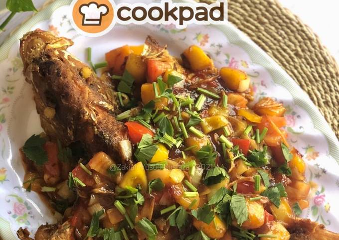 Resep Sweet And Sour Red Snapper Fish 🇨🇳 yang Lezat Sekali
