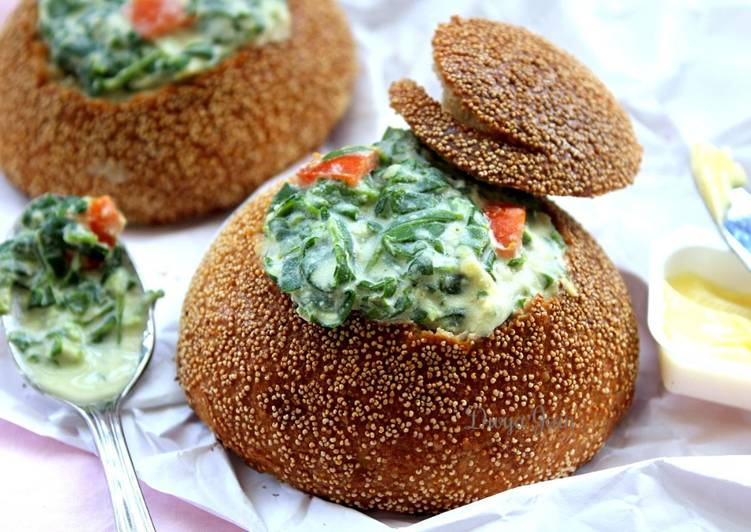 What is Dinner Easy Royal Bowls Of Goodness: Moringa Kootu In Pretzel Bread Bowls