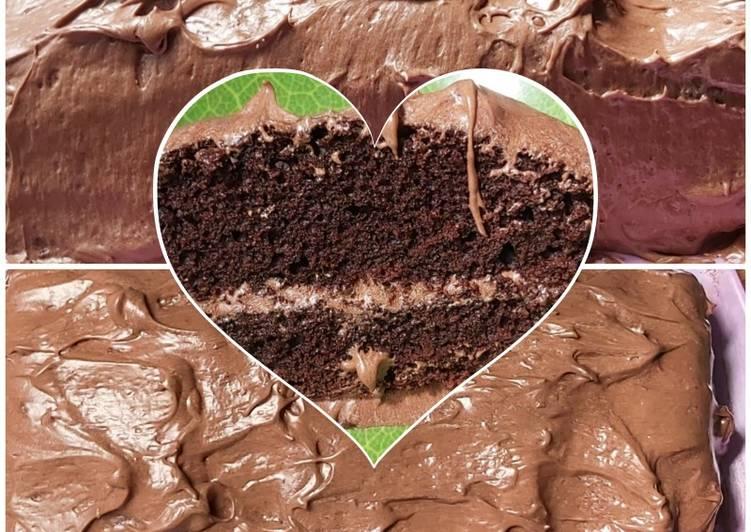 Coklat cake moistt