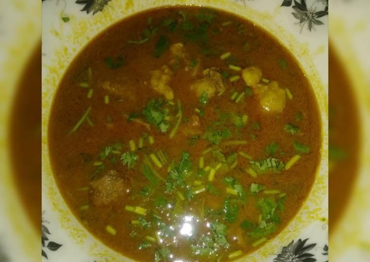 Steps to Prepare Homemade Chana daal gosht