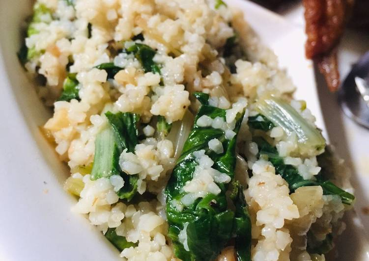 Simple Way to Prepare Favorite Pechay / Bok Choy Pilaf Side Dish