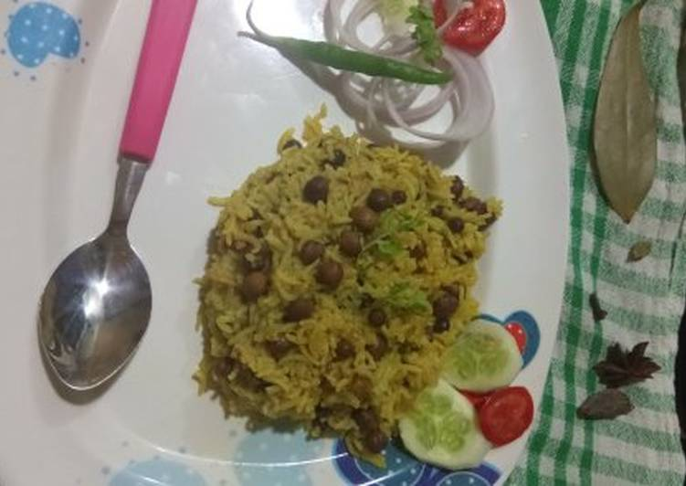 What are some Dinner Easy Any Night Of The Week Black Chana pulao