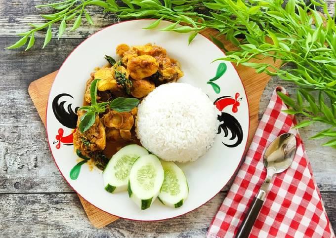 Nasi Ayam Rica Rica Kemangi