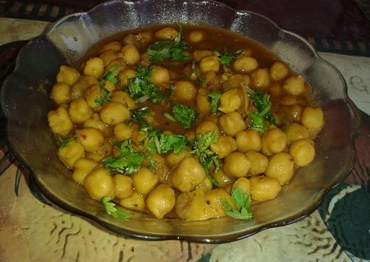 Recipe of Any-night-of-the-week Punjabi chole