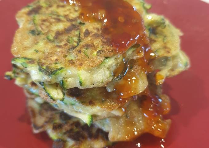 Easiest Way to Make Yummy Paleo Zucchini Fritters