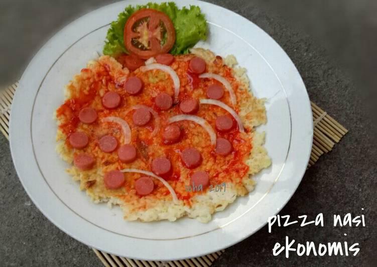 Pizza Nasi ekonomis