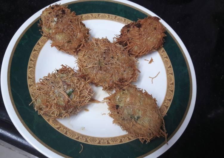Chicken seviyan kebab