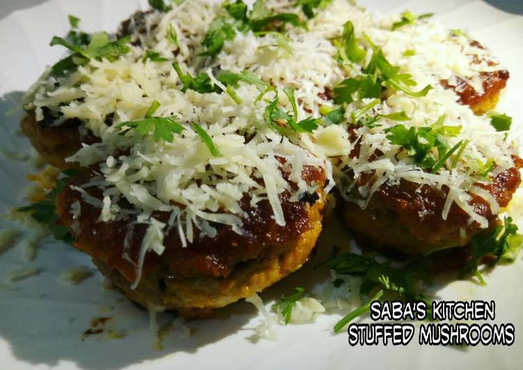 How to Prepare Yummy Stuffed Mushrooms