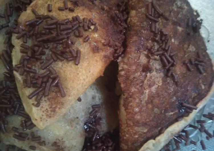 Pancake tanpa telor&susu..