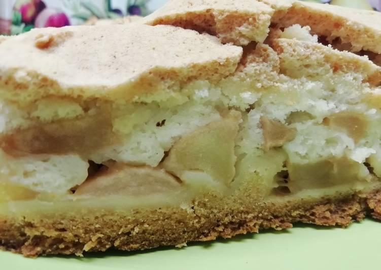 пореем яблочный пирог из ряженки рецепт с фото чёрном списке