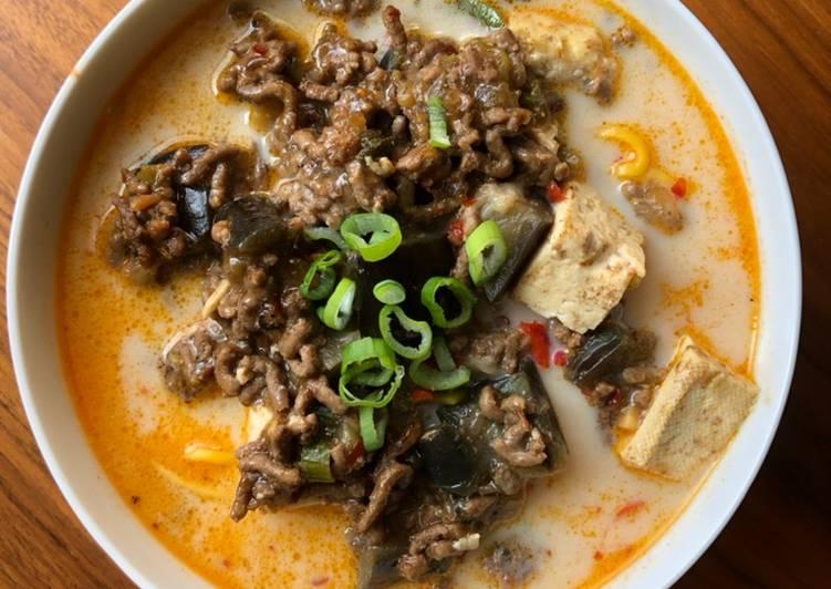 Mapo Tofu Dandan noodle