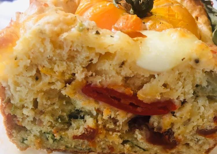 recette Cake aux saveurs Provençales délicieux
