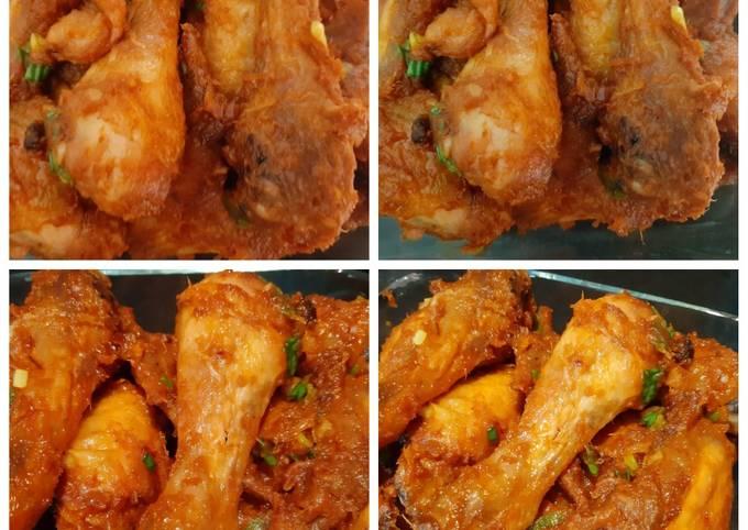 17. Ayam Panggang Balado