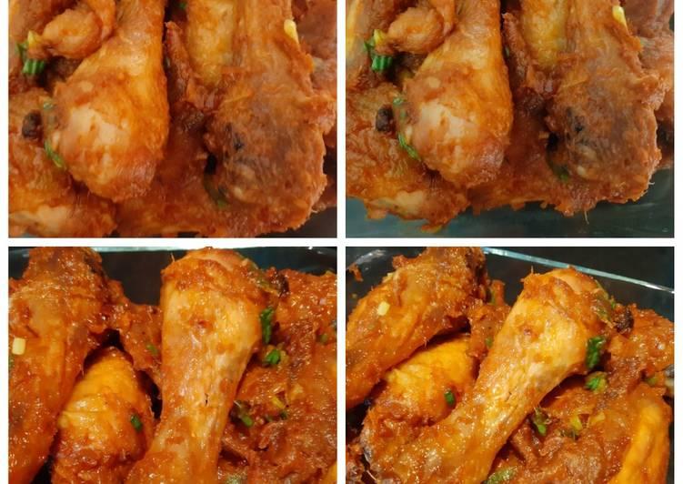 Cara Gampang Menyiapkan 17. Ayam Panggang Balado Anti Gagal