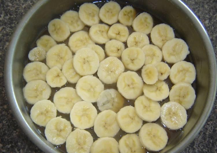 Easiest Way to Prepare Ultimate Banana upside down cake (Low Fat)
