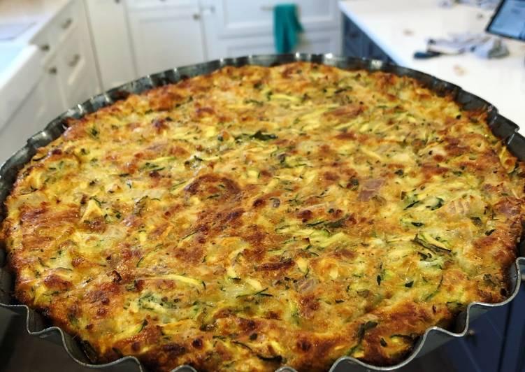 Recipe: Perfect Zucchini Pie