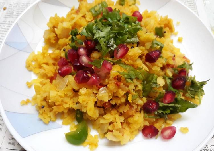 Step-by-Step Guide to Make Top-Rated Kanda poha
