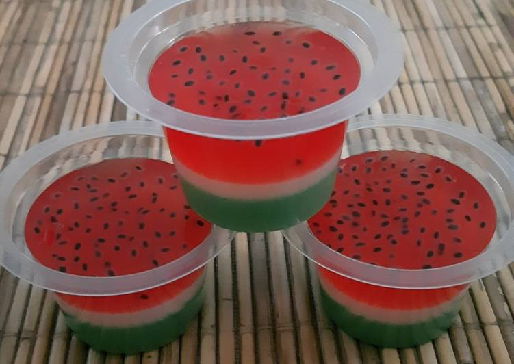 Puding semangka 🍉🍉