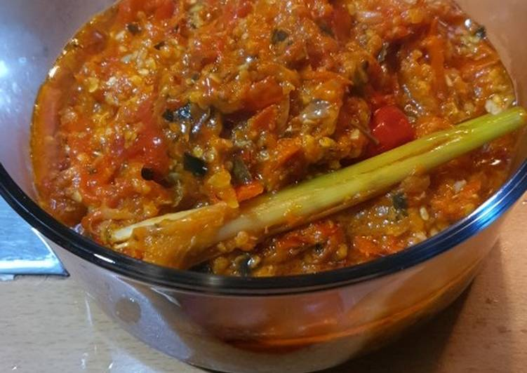Easiest Way to Cook Appetizing Chili Sambal