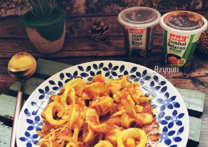 Sotong sambal belacan kebaboom