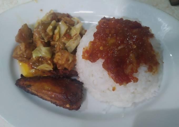 sambal goreng t2k (terong tempe kubis) - resepenakbgt.com