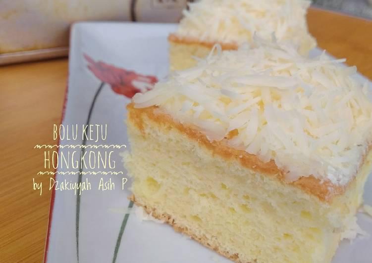 Cake Potong Keju ala Bolu Hongkong