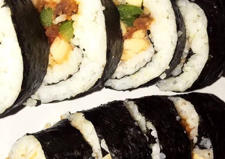 Sushi isi ayam richeese level 3