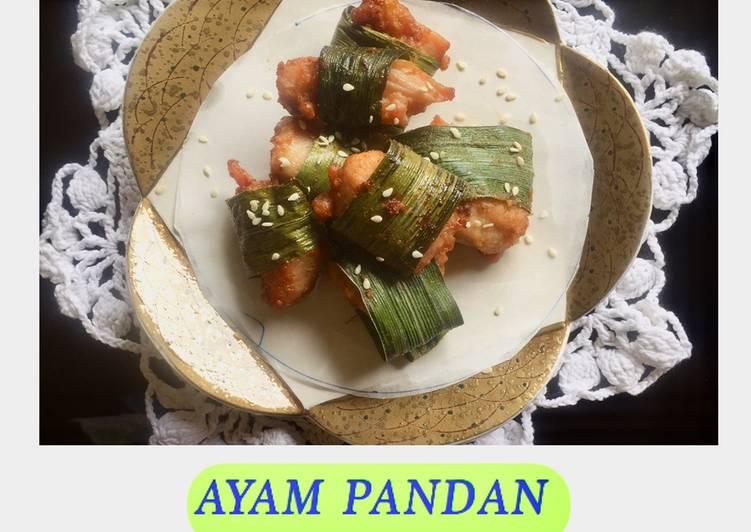 Ayam goreng pandan
