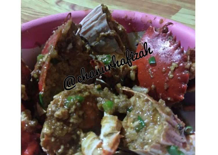 Kepiting saos tiram asam manis - cookandrecipe.com