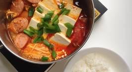 Hình ảnh món Canh kimchi và câu chuyện hộp cá ngừ chia đôi ^^