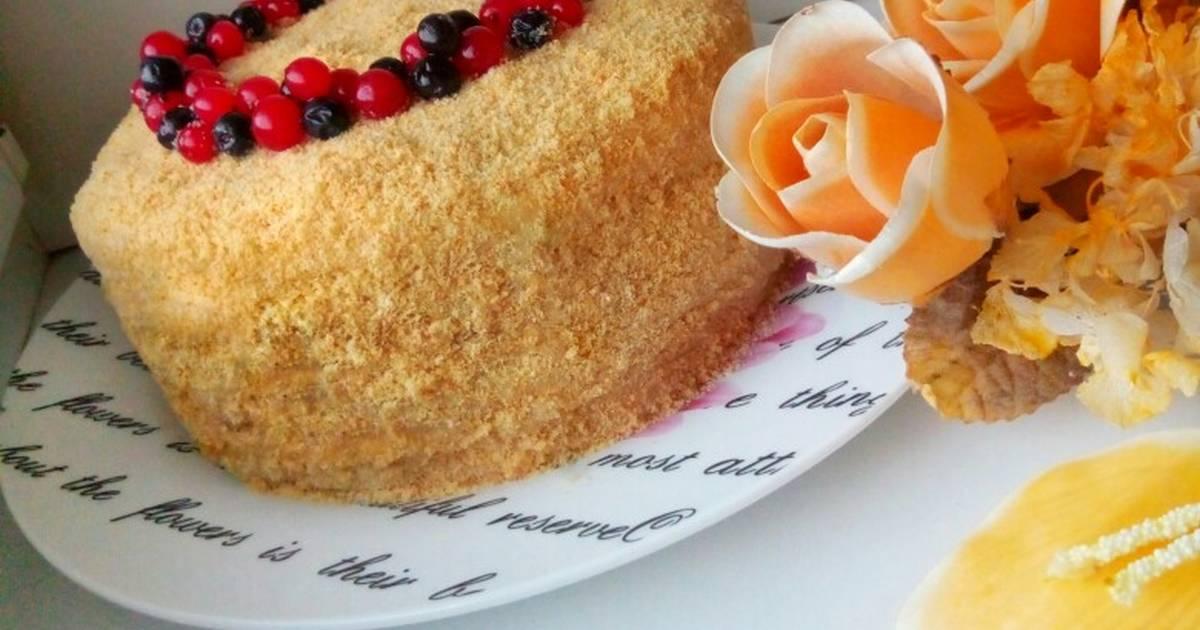 рецепт медового торта с заварным кремом фото отдельная спортивная дисциплина