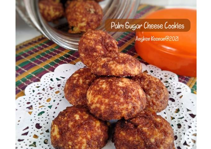 Palm Sugar Cheese Cookies