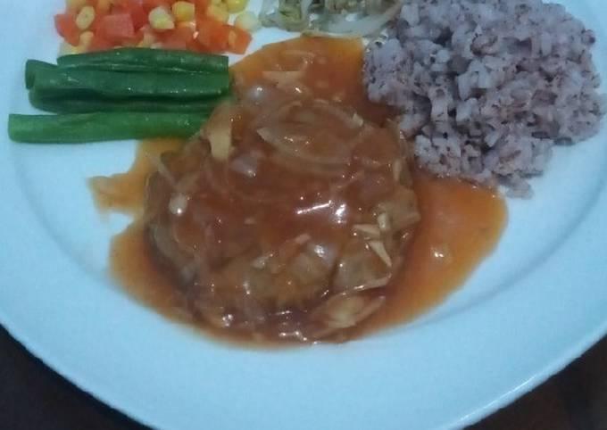 Steak tempe (diet day 1)
