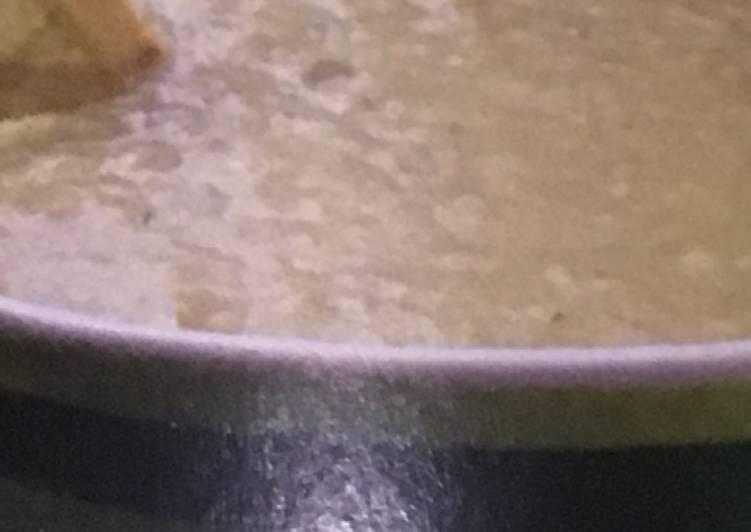 Short Adas (Creamy Lentil Soup)
