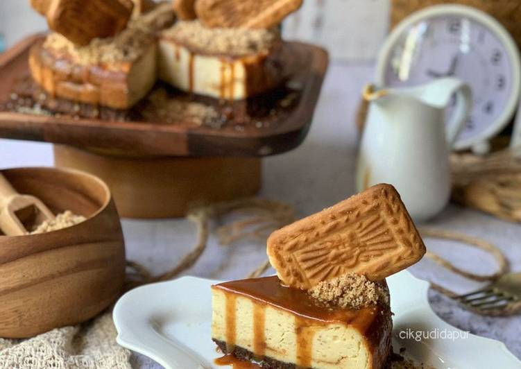 'Bisgerr' White Chocolate Cheesecake (Easy Bake)