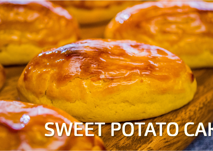 Soft and Smooth Japanese Sweet Potato Cakes
