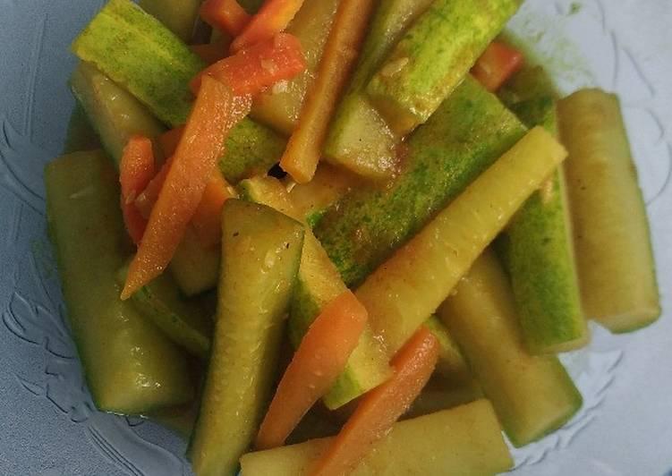 Acar Kuning Timun Wortel - cookandrecipe.com