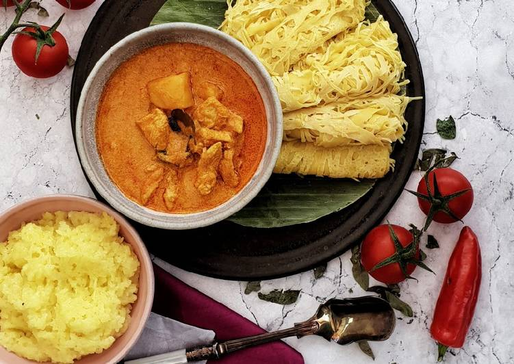 Steps to Make Speedy Malaysian Creamy Chicken Curry